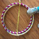"travel hula hoop 40""OD to 20""!"