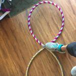 Infinity hula hoop, collapses to 20""
